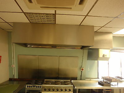 Kitchen Industrial Extraction Canopy