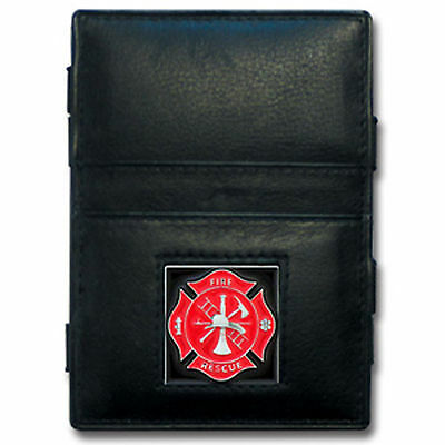 Firefighter Leather Jacob's Ladder Wallet
