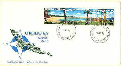 Norfolk Island 1979 Christmas First Day Cover