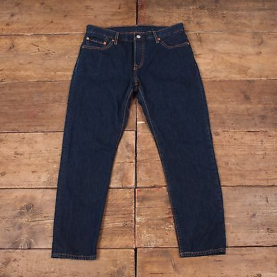 Womens Levis Vintage 501 CT Tapered Denim Jeans Blue Size 32 x 28 R4280