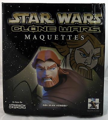 Gentle Giant Star Wars Clone Wars Animated Obi-Wan Maquette 589/2500
