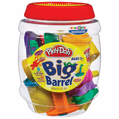 Play-Doh Barrel, Kids Modelling Dough Craft & Play Set