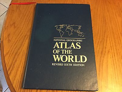 National Geographic Atlas Of The World Revised Sixth Edition
