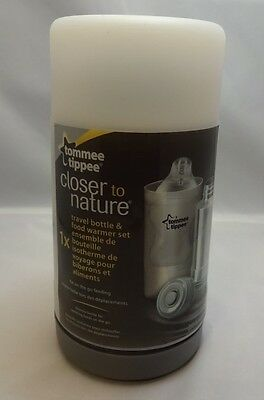 Closer to Nature Tommee Tippee Travel Bottle and Food Warmer