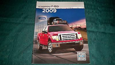 2009  Ford F-150 Pickup  Brochure French Canadian