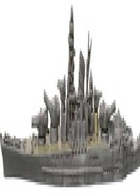 War at Sea miniatures 1x x1 Yamato WaS Base Set NM with card