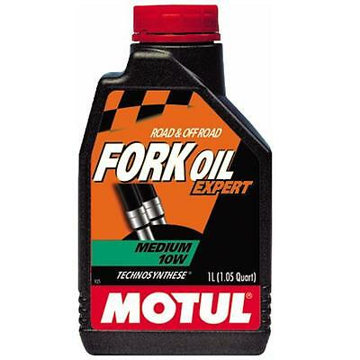 Motul Expert Line 105930 100% Synthetic Fork Oil Medium 10 W 1 Liter
