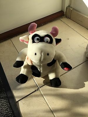 Laughing,mooing Cow Soft Toy