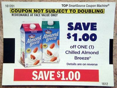 SAVE $10 Almond Breeze Coupons CANADA ONLY