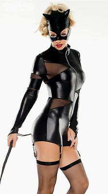 Sexy COSTUME TUTA Intimo INTIMO MISSTRESS CATWOMAN HARD DONNA SEXY SHOP
