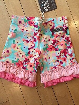 MATILDA JANE Happy and Free Girls Dainty and Delicious Shorties Sz 4 NWT