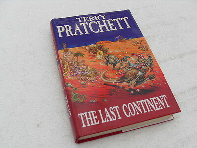 """Terry Pratchett """"THE LAST CONTINENT"""" Hardback book with dust jacket 1998."""