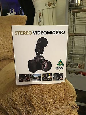 Rode Stereo Video Mic Pro,,