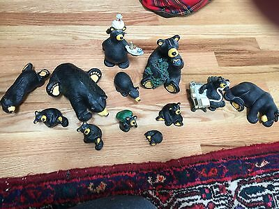 Bearfoots Bears Lot Of 12.  Retired