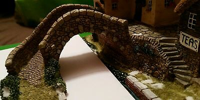28mm scale  Stone bridge and steps 45mm high