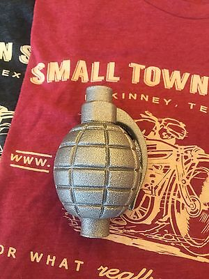 AussieSpeed GRENADE CASTING; CATCH CAN or SHIFT KNOB minibike hot rat rod bobber