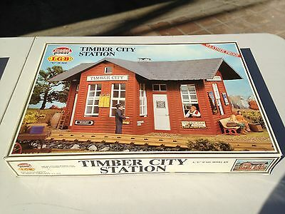 Model Power G Scale Building-Kit #1606 - Timber  City Station  - 1606