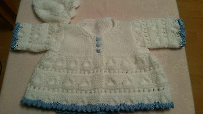 hand knitted dolls clothes to fit 18-20 inch doll