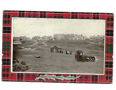 LOSSIEMOUTH Stotfield from Golf Course Postcard Moray Early