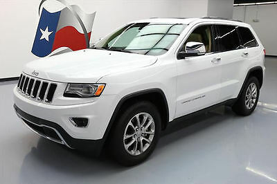 2015 Jeep Grand Cherokee Limited Sport Utility 4-Door 2015 JEEP GRAND CHEROKEE LTD LEATHER PANO ROOF NAV 25K #218214 Texas Direct Auto