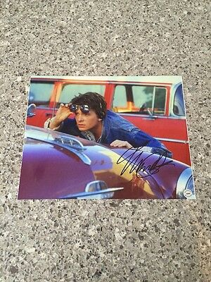 Michael J.Fox Marty Signed Autographed 8x10 Photo Back to the Future W/COA