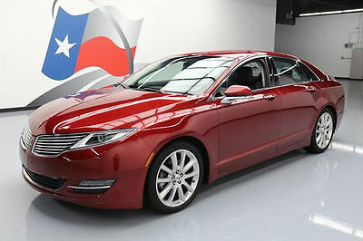 2013 Lincoln MKZ/Zephyr Base Sedan 4-Door 2013 LINCOLN MKZ ECOBOOST VENT SEATS NAV REAR CAM 28K #821391 Texas Direct Auto