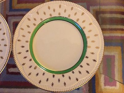 Clarice Cliff Newport Pottery 5 Teacups, 6 Saucers, 6 Side Plates
