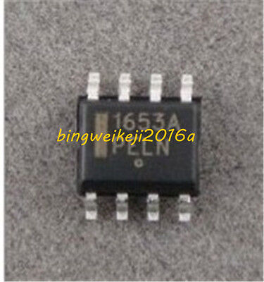 5Pcs PWM Controller IC NCP1653 NCP1653A 1653A SOP8 SMD