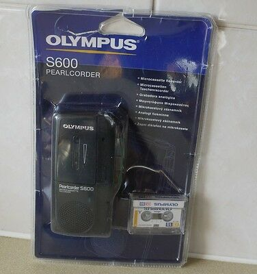 Olympus Pearlcorder S600 Microcassette Recorder
