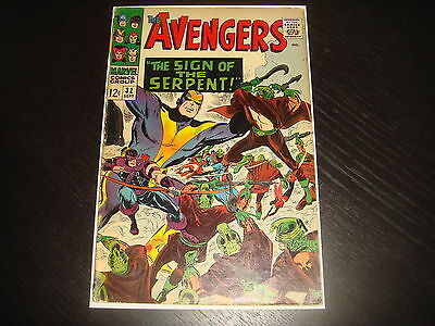 THE AVENGERS #32  Silver Age  Heck  Marvel Comics 1966  Fa/GD