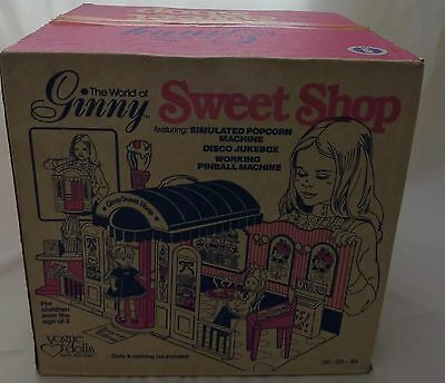 Ginny Sweet Shop Vintage 1979 New in Original Box Never Played With