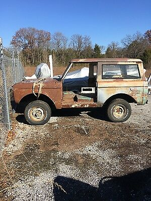 1966 Ford Bronco  Rolling project very solid