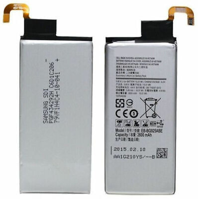 OEM Samsung Galaxy S6 Edge Internal Battery 2600mAh 3.85V EB-BG925ABE Original