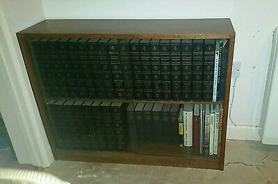 Antique Glass Fronted Book Case