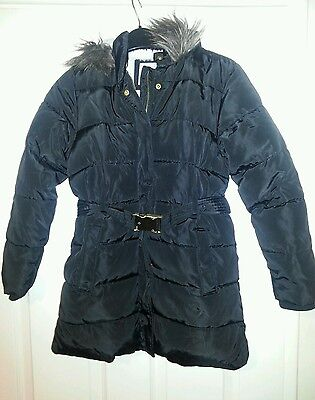 Girls Coat from Marks and Spencer - Age 9-10 - Thick Padded Winter Coat
