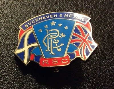 Buckhaven And Methil Rangers Supporters Club Badge