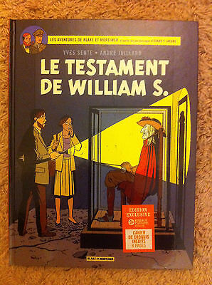 Blake Mortimer (ep jacobs) spécial Leclerc William S + 8 pages d'inédits ** NEUF