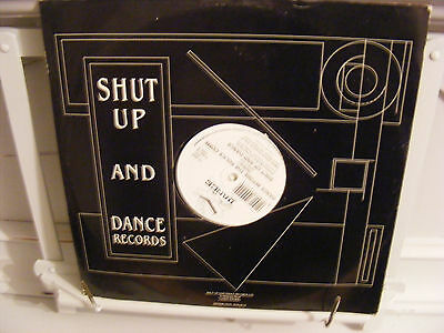 "Shut Up & Dance 12"" Dance Before The Police Come (remix) Breakbeat 1991"