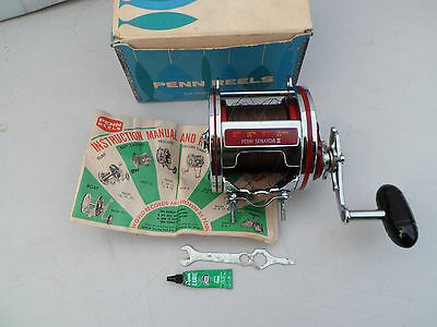 Vintage Penn Senator Ii  6/0  Big Game Sea Fishing Reel