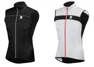 Sportful Shell Vest 1101255 Bicycle Vest Wind protector black o. white/Black