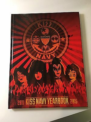 Kiss Kruise Yearbook 2011-2015 Navy