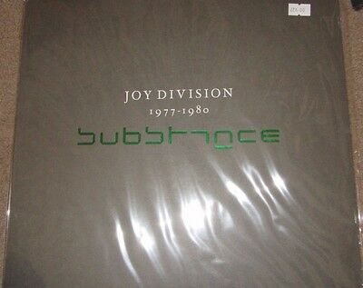"""JOY DIVISION """"Substance"""" 2LP sealed my bloody valentine the cure"""