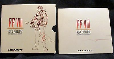Final Fantasy Viii Music Collection 4 Cd's Ff Viii Video Game ~ Ships Free!