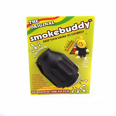 The Original Smokebuddy Smoke Buddy Personal Air Filter Nib! New Black