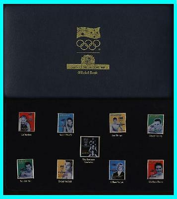 * SYDNEY 2000 OLYMPIC GAMES LIMITED EDITION * W Bank Of Melbourne * Gold Pins