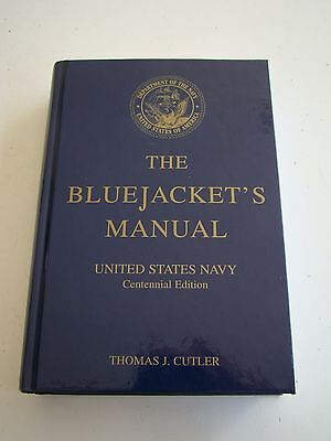 Usn Navy Centennial Sailor's Instruction Brain Reference Book Bluejacket's Bible
