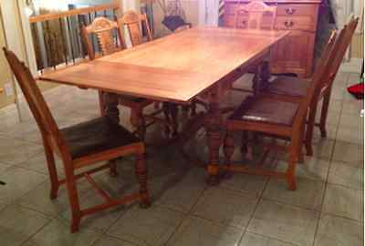Tudor Antique Dining Set