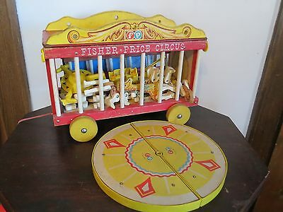 Vintage 1960s Fisher Price Circus #900 - Good Condition