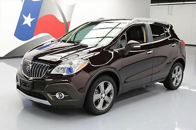 2014 Buick Encore Leather Sport Utility 4-Door 2014 BUICK ENCORE LEATHER HEATED SEATS REAR CAM 34K MI #701682 Texas Direct Auto