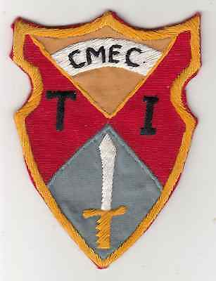 Wartime Combined Material Exploitation Center (CMEC) Patch